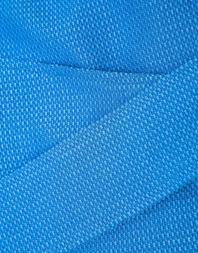 Chaqueta lazada azul