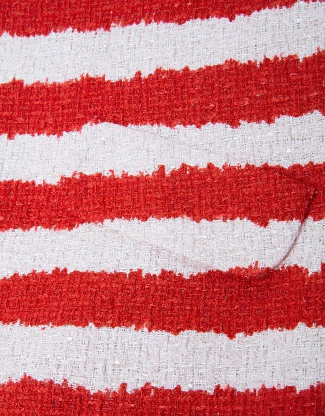 Short striped jacket