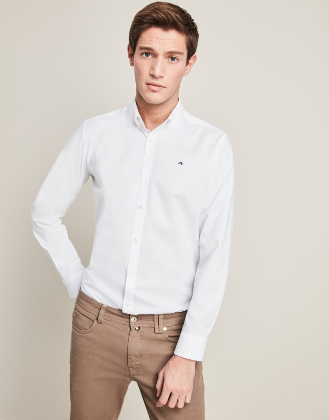 Brown pants with five pockets