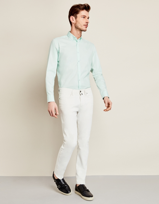 Sea green Oxford sport shirt