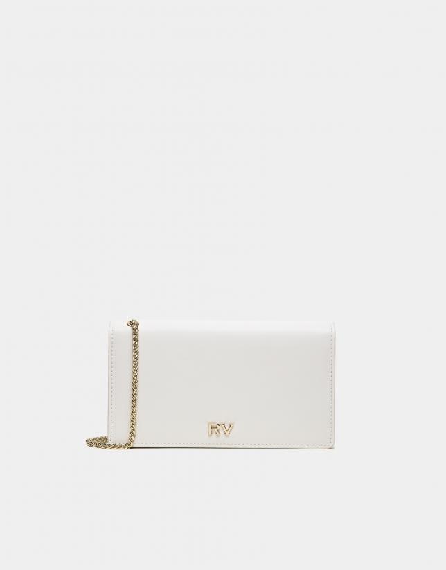 White Sunset leather handbag