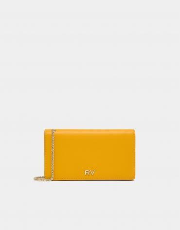 Bolso de mano Sunset piel amarillo