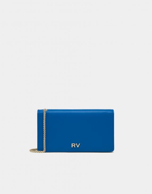 Blue Sunset leather handbag