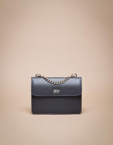 Mini grey marengo matt Pompidou shoulder bag
