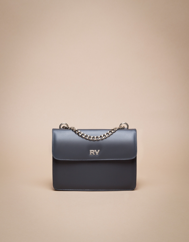 Mini grey marengo matt Pompidou shoulder bag
