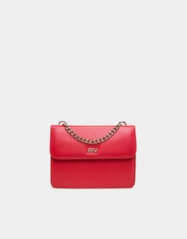 Bolso bandolera mini Pompidou rojo