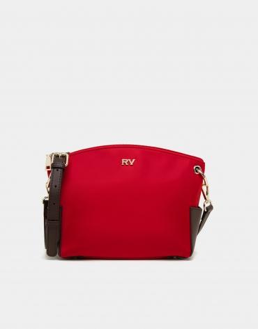 Bandoulière en nylon rouge