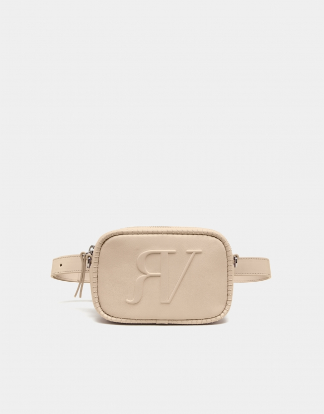 Ivory belt bag