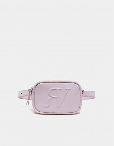 Bolso cinturón lila