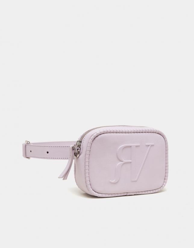 Bolso cinturón lila Mujer PV2018 | Roberto Verino