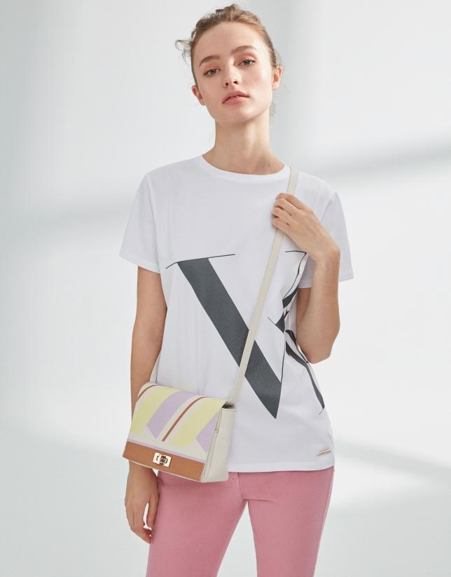 Yellow Teba shoulder bag
