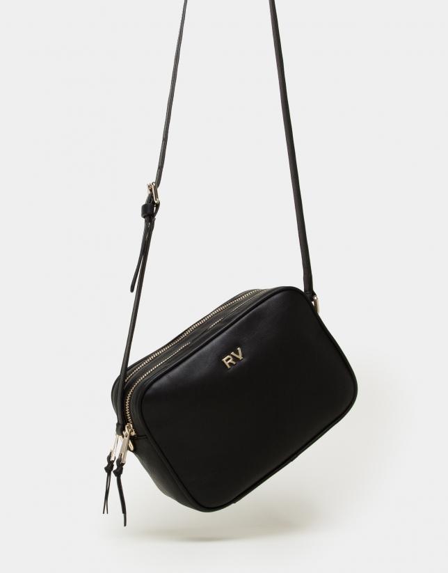 Black leather Taylor shoulder bag