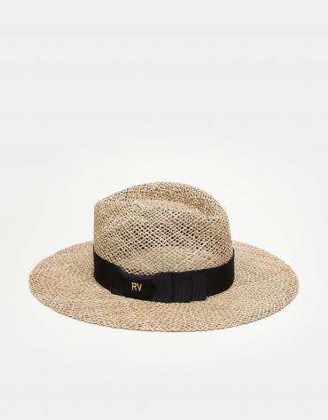 Sombrero fedora beige