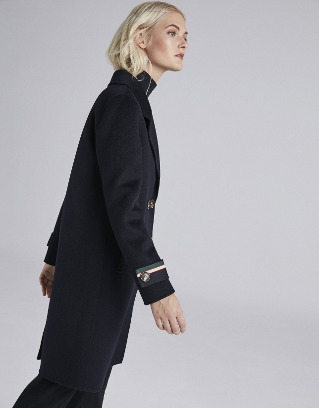 Blue sailor coat