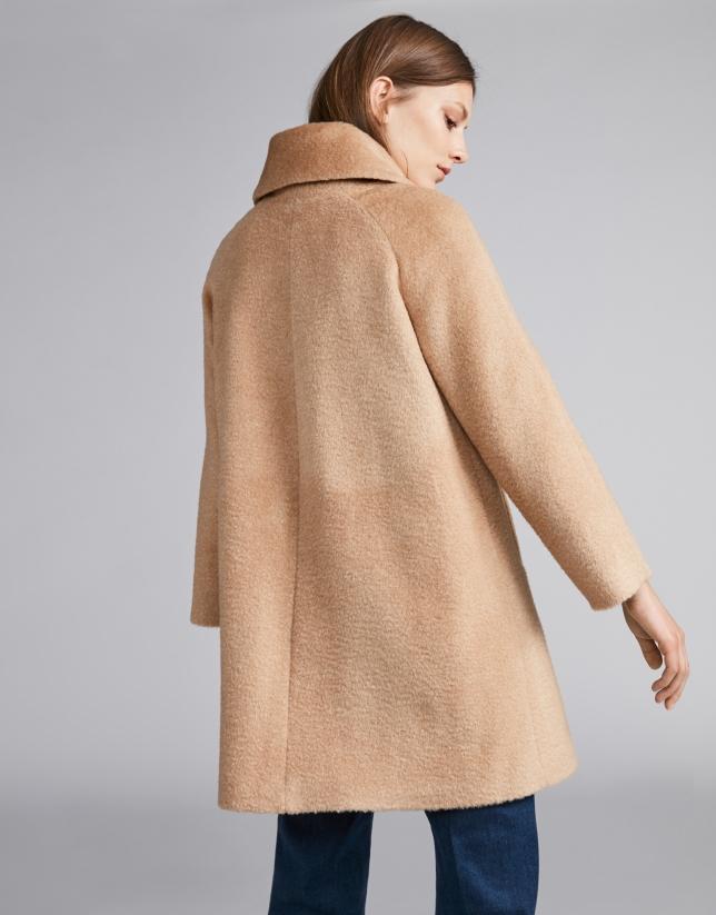 Beige cloth coat