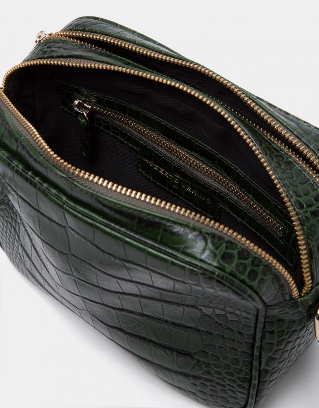 Bolso bandolera Taylor coco verde