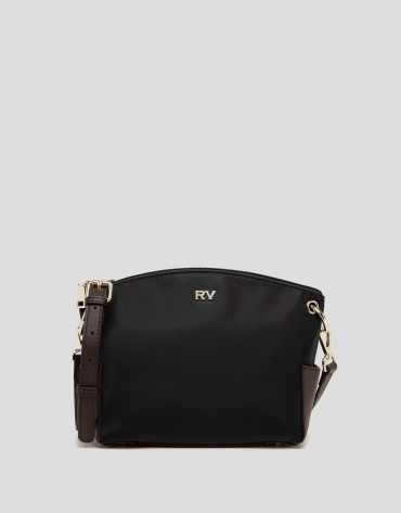 Black Nano Candem leather shoulder bag