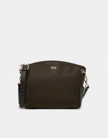 Vert Nano Candem leather shoulder bag
