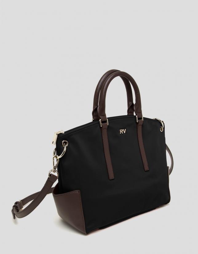 Bolso shopping Candem Midi negro