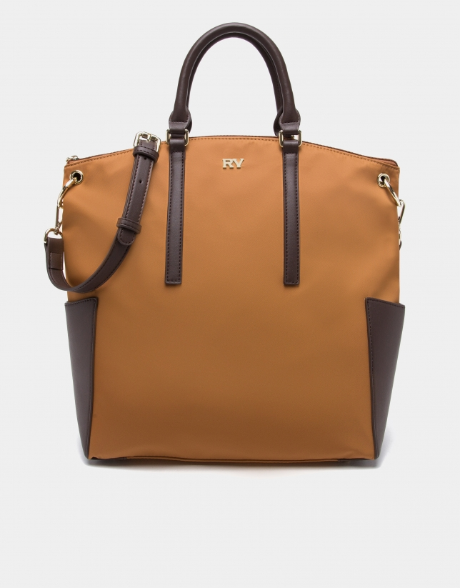 Tan Candem leather tote bag