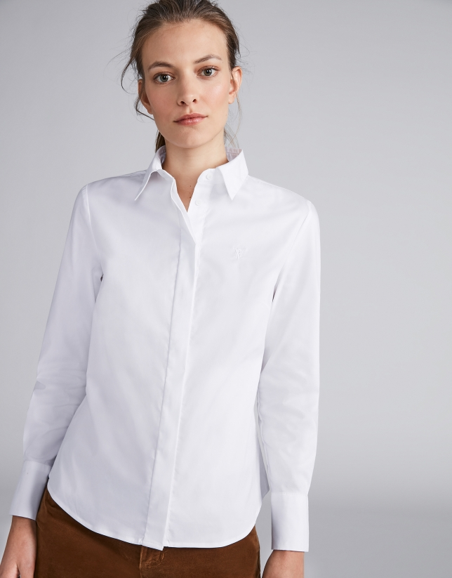 Chemise masculine blanc