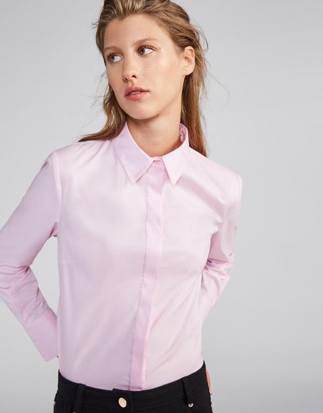 a57721a9f550 Camisa masculina rosa - Mujer - OI2018 | Roberto Verino