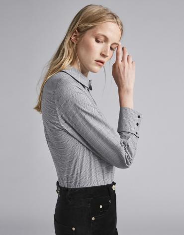 Men's glen plaid shirt