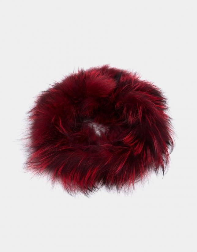 Tubular pelo zorro rojo