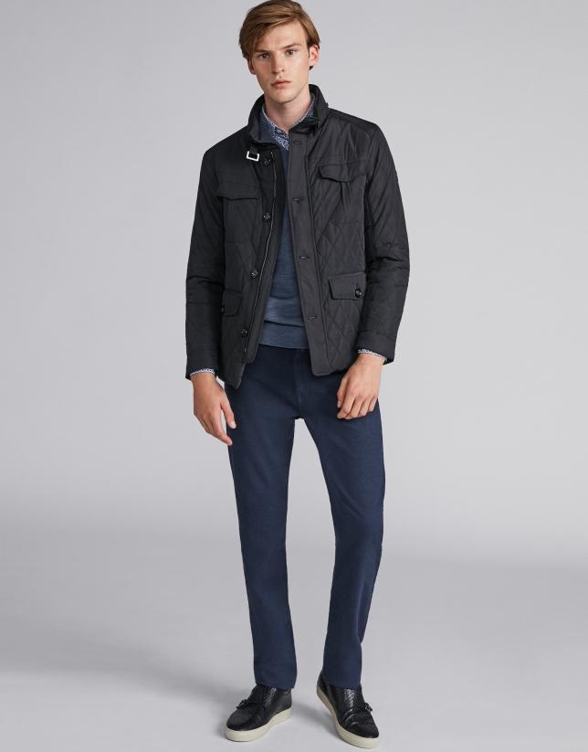 Pantalón cinco bolsillos azul