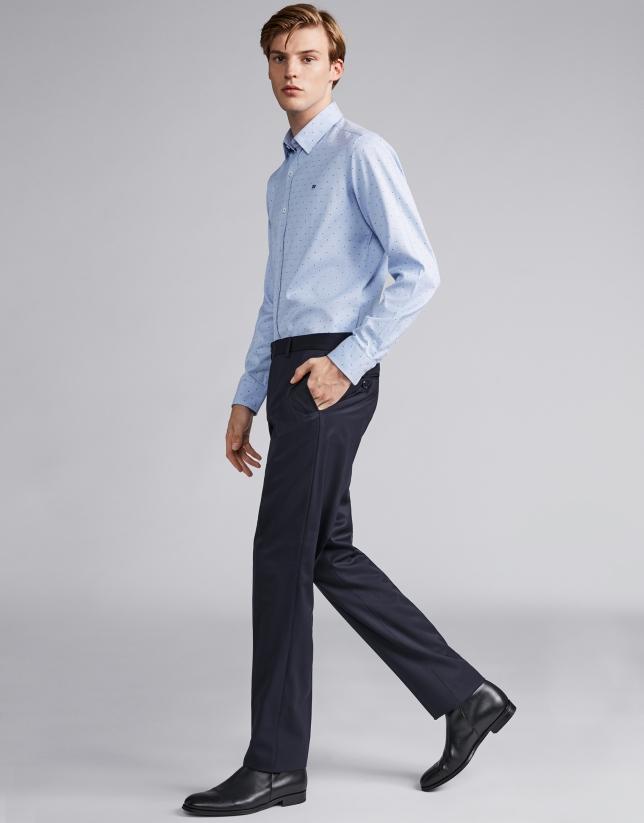 Pantalon de costume séparé bleu marine
