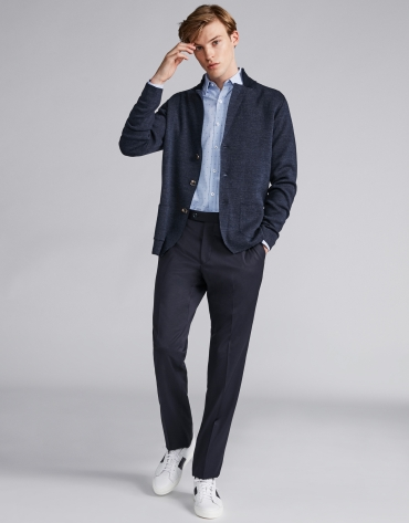 Navy blue suit with separates