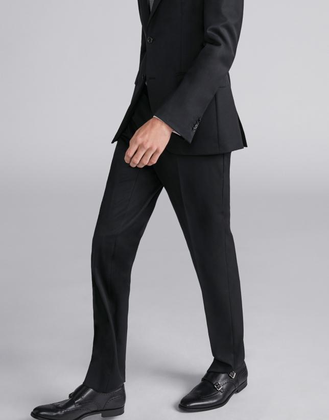 Pantalón traje separate negro