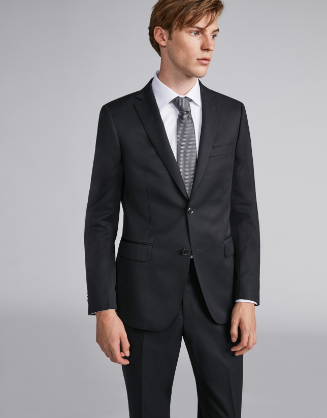 Black suit with separates