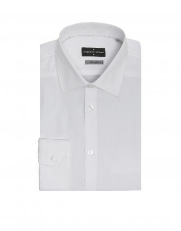White Oxford, slim fit, dress shirt