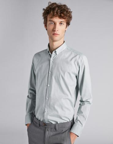 Camisa sport oxford verde