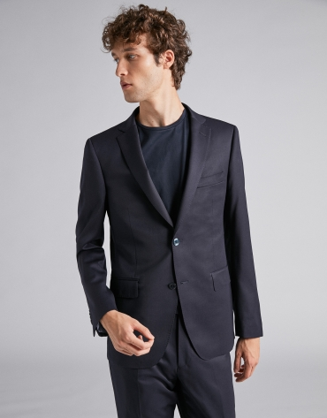 Navy blue separate suit jacket