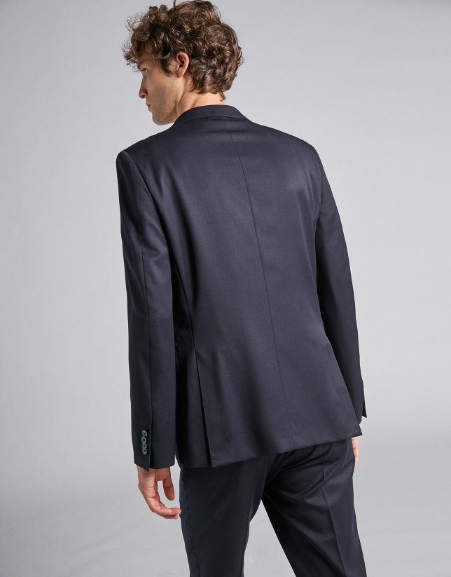 Navy blue separate suit jacket