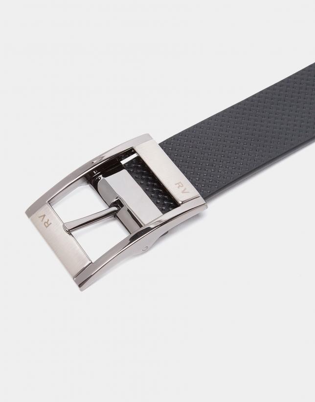 Cinturón reversible marrón/negro