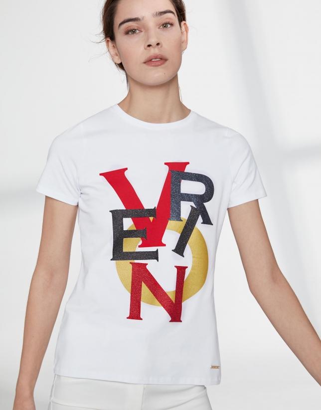 T-shirt  sérigraphié VERINO