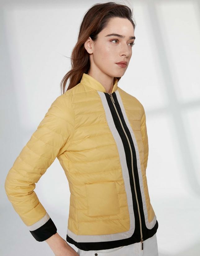 Blouson léger jaune