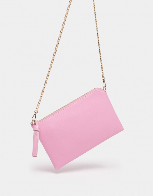 Bolso Lisa rosa cuarzo