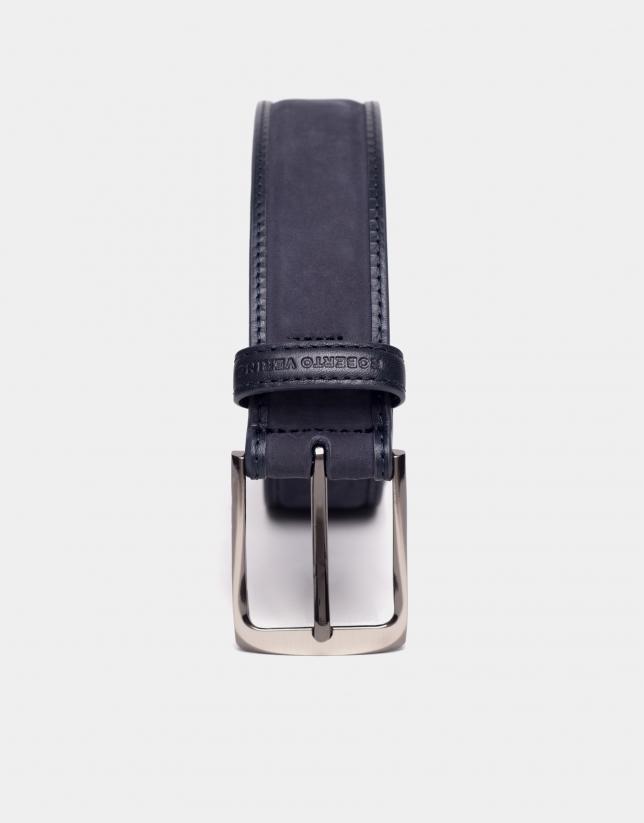 Cinturón combinado ante y napa marino