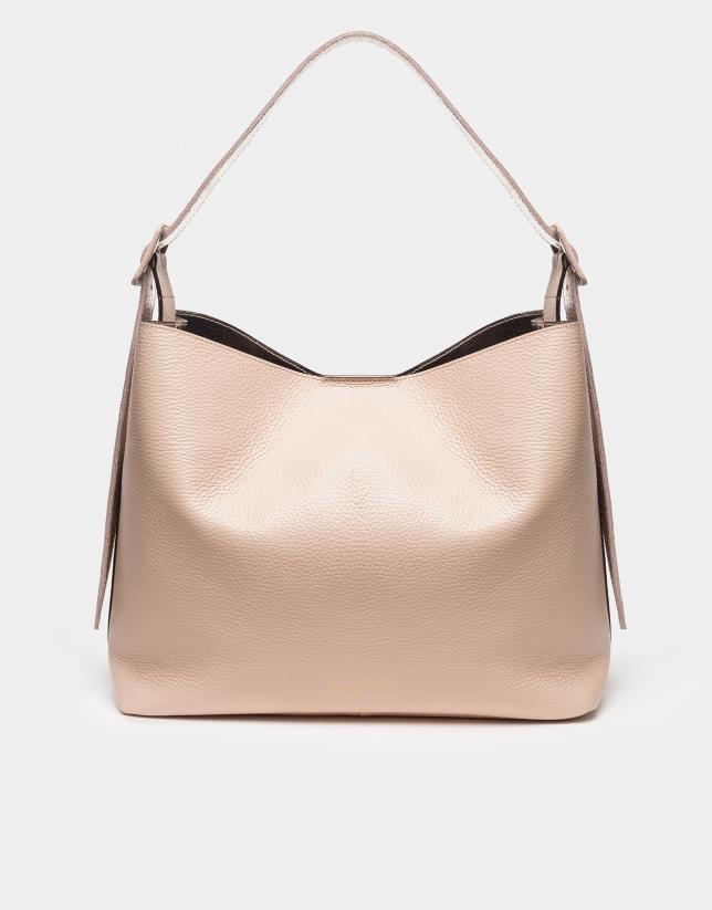 Camel Monk shoulder bag