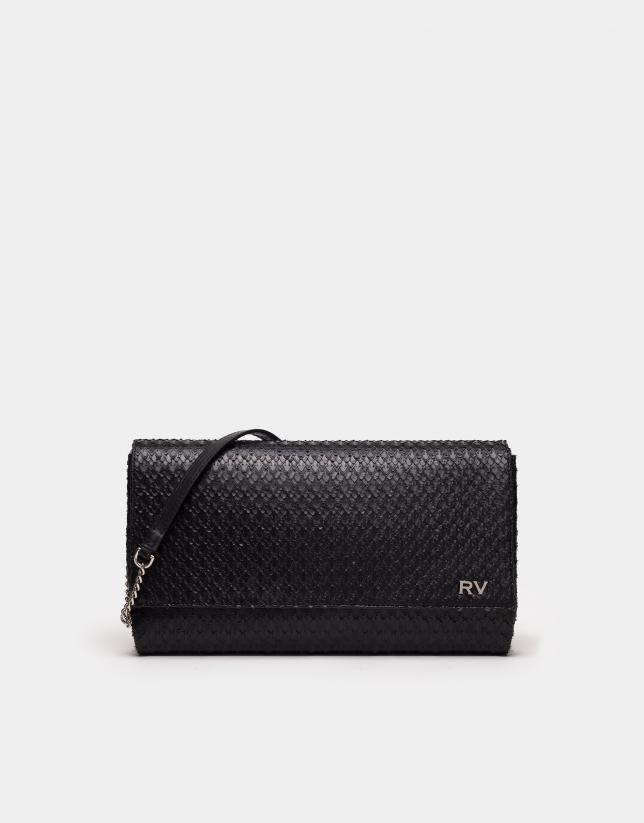 Bolso de mano Tiffany negro