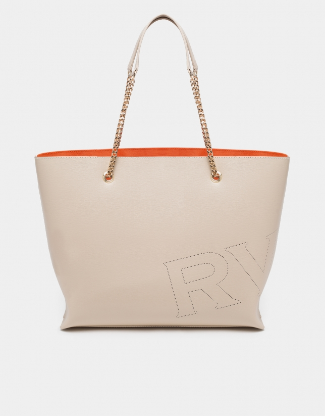 Bolso shopper Hundred Points nude