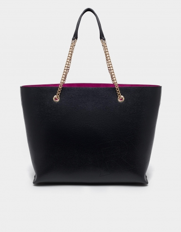 Black Hundred Points shopping bag