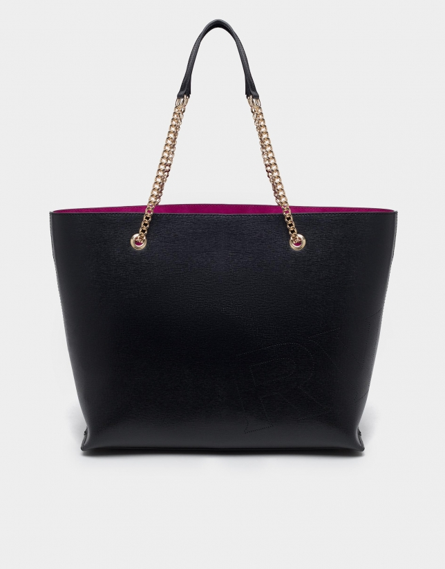 Bolso shopper Hundred Points negro