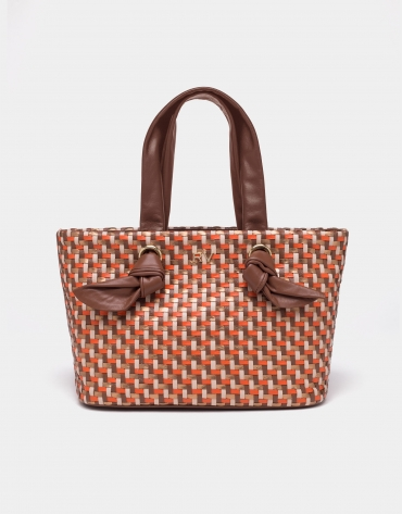 Bolso shopper mini Laia café