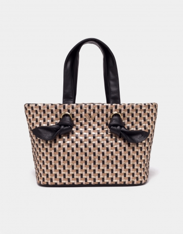 Black Laia mini-shopping bag
