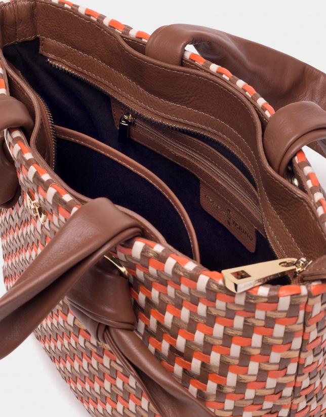 Coffee Laia maxi-shopping bag